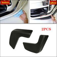 2PCS Car SUV Universal Front Bumper Lip Body Kit Spoiler Black ABS front shovel