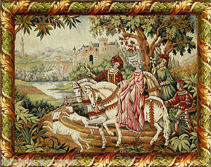 Dolls House Miniature Tapestry effect Picture Hanging 1/12th or 1/24th scale #83