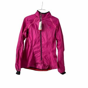 Specialized Deflect Hybrid Jacket Womens L Cycling Pink Vented Semi Form Fitted