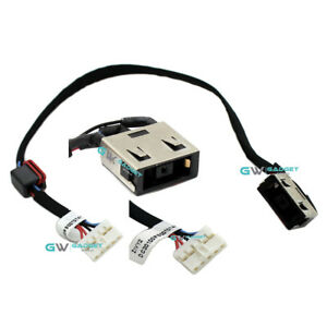 LENOVO YOGA Y50 Y50-70 DC30100RB00 DC POWER JACK PORT PLUG WITH HARNESS CABLE