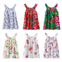 Baby Girls Princess Floral Dress Newborn Toddler Wedding Dresses Party Sundress