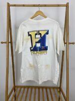 VTG Tommy Hilfiger Sailing Gear Big H Short Sleeve T-Shirt Size XL