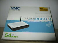 ROUTER SMC 54 MBPS SMC 79001WBRA2