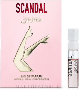 Jean Paul Gaultier Scandal EDP 1.5ml Spray Sample Vial Womens Perfume Genuine