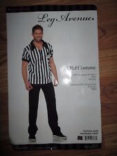Mens REF REFEREE Halloween Costume XL Leg Avenue sexy hot