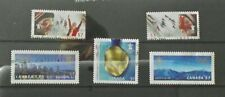 Canada 2010 winter olympic games Vancouver 5th series singles set used