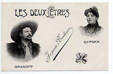 LE CIRQUE et thémes ARTISTES Spectacles Cirque et music hall ORANOFF et GYPSKA