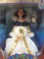 1998 Disney Snow White Holiday Princess Barbie SnowWhite 22 years NIP