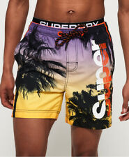 Superdry Mens Photographic Volley Swim Shorts