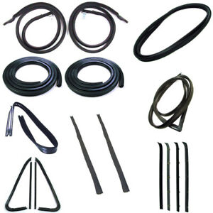 1978 1979 1980 Chevrolet GMC Pickup Truck Complete Weatherstrip Seal Kit New