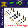 JLR-520H-X RING Master Joint Joining Link RIVET TYPE FOR #520 CHAIN Motorcycle