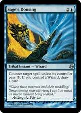 SAGE'S DOUSING Morningtide MTG Blue Tribal Instant — Wizard Unc
