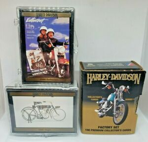 1992 Harley-Davidson Collector's Cards Series 2 - Lot of 3 Complete Sets!