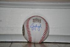 Cubs Jason Heyward Signed Rawlings 2016 World Series Baseball