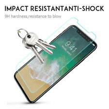 For iPhone 6 7 8 Plus XS XR Premium Real Screen Protector Tempered Glass Film