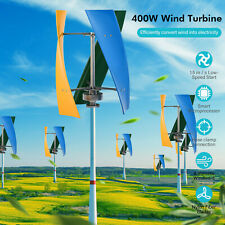 400w Vertical Wind Power Turbine Generator Maglev Generator Withcharge Controller