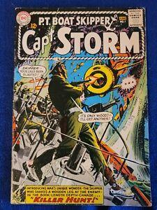 CAPT. STORM #1, FINE Cond. Origin Capt. Storm! Irv Novick-c/a DC (1964)