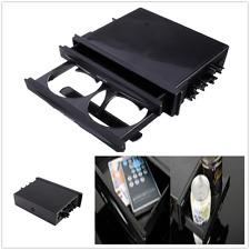 High-Plastic 1p Car Double Din Radio Installation Pocket Cup Holder Storage Box