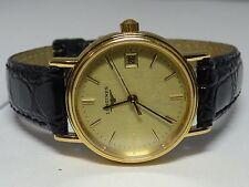 Longines L4.136.2 Gold-Plated Date LDS Quartz Watch 7j L.250.2 ETA956 112
