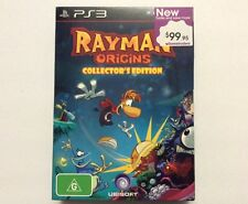 RAYMAN ORIGINS COLLECTOR'S EDITION, UBISOFT - PlayStation 3, PS3 - Brand New!