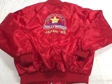 Vintage BSA Boy Scouts Red Satin Jacket Shirt XL/L Troop 31 Japan 89' Hollywood