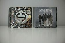 Take That  2 x CD's Greatest Hits + Never Forget - Robbie Williams VGC