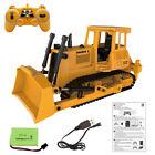 RC Bulldozer Loader Tractor Crawler Remote Control Construction Vehicles Truck
