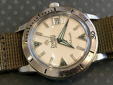 Vintage Zodiac Seawolf Diver watch wristwatch Military Automatic stainless steel