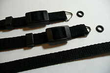 "Camera Neck Shoulder Strap for Ricoh 500G 500RF 35ZF 35FM 35EF - 40"" Black"