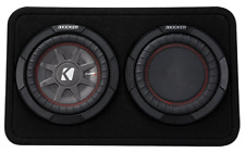 "Kicker 10"" CAR Subwoofer BASS Machine Speake CompRT 2Ohm Enclosure MAKE OFFER!"