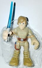 "Star Wars LUKE SKYWALKER 2.5"" Figure Galactic Playskool Heroes Bespin Outfit"