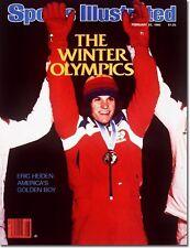 February 25, 1980 Eric Heiden Speed Skating Sports Illustrated NO LABEL 1