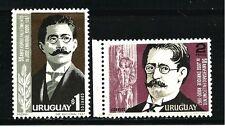 Uruguay Stamps- Scott # 746-747/A219-Mint/LH-1967
