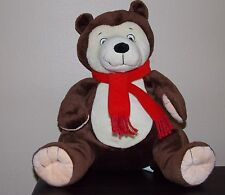 Kohl's Cares Brown Bear You Can Do It Sam  by Hest Teddy Stuffed  Plush Toy EUC