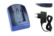 Chargeur USB/Secteur NP-FP50 pour Sony DCR-DVD405, DVD505, DVD602, DVD605,DVD653