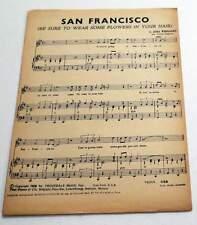 Partition sheet music JOHN PHILIPS San Francisco + 1 CLAUDE FRANCOIS / CHARDEN