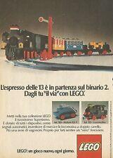 X4665 L'espresso è in partenza sul binario 2 - LEGO - Pubblicità 1975 - Advertis