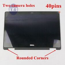 NV133FHM-A11 Dell Inspiron 6NKDX 06NKDX TOUCH Screen LCD Replacement Round Bezel