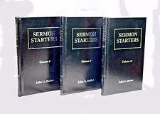 SERMON STARTERS VOLUME 8, 9, & 10 - John G. Butler