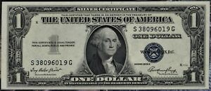 1935 $1 SILVER CERTIFICATE ~ BRAND NEW CHOICE UNC ~ 85 YEARS OLD, YET BRAND NEW