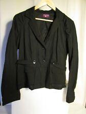 veste blazer ONE STEP laine/rame noire taille 42