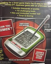 KenKen Electronic Game - Beyond Suduku! Backlight with Touch Screen - 10 Levels!