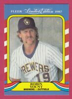 1987 Fleer Baseball Limited Edition Superstars # 44 Robin Yount