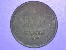 Netherlands - 25 Cents - 1941 - KM# 174