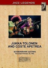 Jazz Legends: Jukka Tolonen and Coste Apetrea - LIVE! [NEW], DVD
