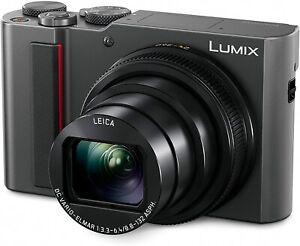 Panasonic LUMIX TZ200 20.1MP Zoom Travel Camera - Silver