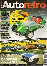 AUTO RETRO 311 LOTUS SUPER SEVEN S2 TURBOTRACTION II FIAT DINO SPIDER 2000 TR6