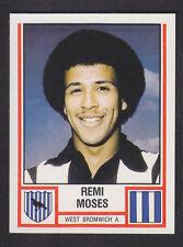 Panini Fútbol 81 - # 333-West Bromwich Albion Remi Moisés
