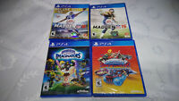 PS4 GAMES OF 4+1 LOT