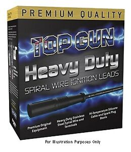 Top Gun Spark Plug Lead Set TG4468 fits Proton Gen 2 1.6 (CM)